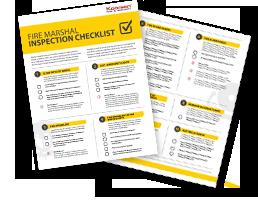 fire marshal checklist